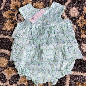 3/6 Janie and Jack romper brand new with tags